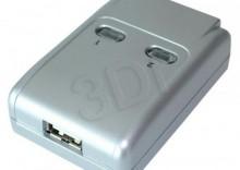 PRZEŁĄCZNIK DRUKARKOWY USB 2.0 AUTO 2PC -> 1 URZĄDZ [445070]