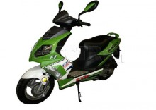 Skuter MONDIAL MTD 50QT-7E Zielono-Biały R2013 + DARMOWA DOSTAWA