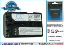 Sony NP-FM55H 1400mAh 10.4WhLi-Ion 7.4V