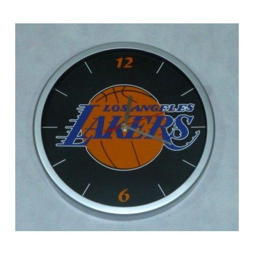 Zegar NBA Los Angeles Lakers z szybką