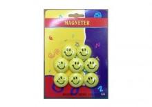 Magnesy do tablic 8 sztuk Smile blister
