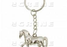 Brelok koń srebrny
