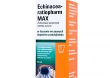 Echinacea-Ratiopharm MAX Płyn syrop na odporność na przeziębienie - jeżówka purpurowa 50ml