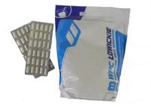 ZESTAW: Białko WPC Łowickie 1,8kg + Creatine Mega Caps 1250mg 2 x 30 kaps - Cookie