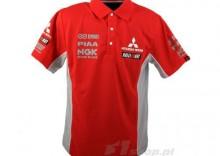Polo Red Mitsubishi Motors