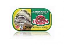 Sardynki portugalskie w oliwie z oliwek -125g