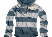 Bluza Stripe Hoodie Zipper
