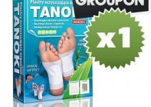 GROUPON - TANOKI - plastry oczyszczające