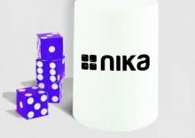 zestaw do gry Nika PURPLE dice stacking