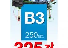 Plakaty B3 - 250 sztuk