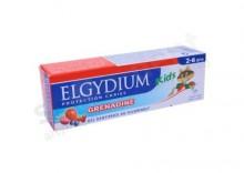 ELGYDIUM Junior Pasta do zębów mlecznych 2-6 lat o smaku malinowo-truskwakowym 50 ml