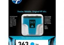 Tusz HP C8771EE , oryginalny, cyjan