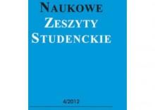 Naukowe zeszyty studenckie [opr. miękka]