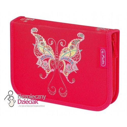 Piórnik dziewczęcy Motyl, 31 części, Herlitz - Motyl