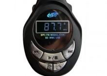 Transmiter samochodowy MP3 z USB, pilotem