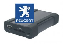 Zmieniarka SD/USB do aut marki PEUGEOT