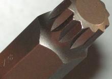 """KLUCZ WPUSTOWY trzpieniowy 12 kątny XZN SPLINE Z NASADKA 1/2"""" M18"""