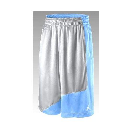 Spodenki do kosza Nike Jordan Playground - błękitno - szare