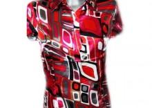Piękna satynowa bluzeczka orientalna