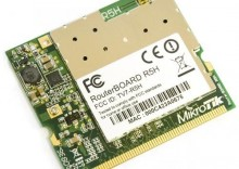 Mikrotik R5H 802.11a High Power MiniPCI card - 320mw output Atheros AR5414A chipset MMCX connector