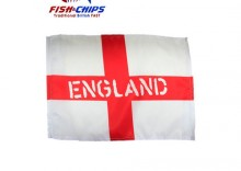 FA England Car Window Flags Twin set