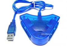 ADAPTER PRZEJSCIOWKA USB2.0 NA 2 PADY PSX PS2