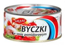 Byczki w pomidorach 300g