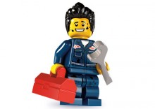 8827 - MECHANIK- KLOCKI LEGO MINIFIGURKI