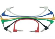 Zestaw 6 kabli krosowych 30 cm, zagięte