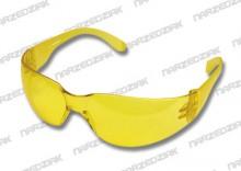 Topex Okulary ochronne CE żółte 82S116