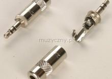 Neutrik NYS-231 wtyk jack 3.5mm TRS