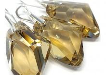 SWAROVSKI komplet GALACTIC GOLDEN SHADOW