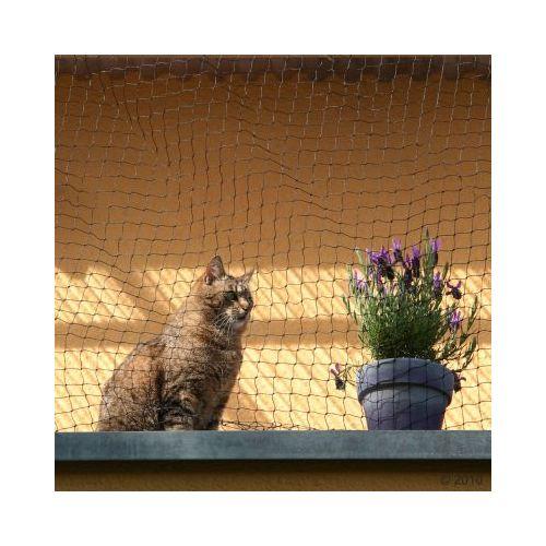 Siatka ochronna dla kotów, czarna - 6 x 3 m