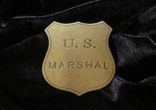 ZŁOTA ODZNAKA SZERYFA U.S. MARSHAL