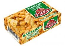 Bacalhau, dorsz portugalski z dodatkiem ciecierzycy 120g