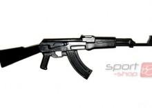 Karabin gumowy AK-47