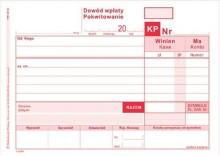 KP - dowód wpłaty A6 wielokopia, 401-5