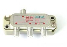 Rozgałęźnik sygnału RTV i SAT - Axing SVE 3-01