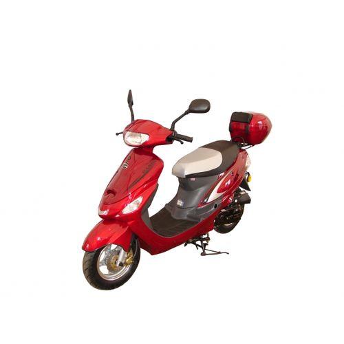 Skuter ZIPP BASIC G2- czerwony Polska Gwarancja. Niskie koszty dostawy