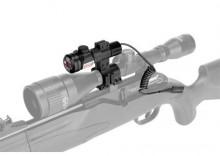 """Celownik laserowy na lunetę z tubusem 1"""" lub szynę 22mm"""