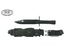 Bagnet MFH M9 czarny w etui 32cm