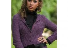 Sweterek Chanel Fiolet