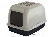 Ferplast Maxi Bella - toaleta dla kota - Filtr zapasowy 20 x 7 cm, czarny
