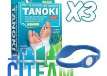 CITEAM - TANOKI- 3 OPAKOWANIA - plastry oczyszczające + opaska gratis
