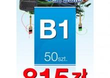 Plakaty listwowane B1 - 50 sztuk