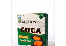 Cuca: małże w zalewie BIO - 115 g