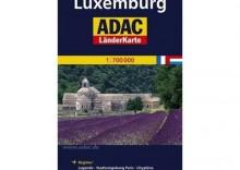 Frankreich + Luxemburg / Francja + Luksemburg. Mapa samochodowa 1:700 000 wyd. ADAC