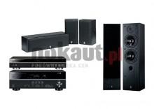 Kino domowe YAMAHA RX-V373 + BD-S671 Czarny/NS-50 + NSP-60 Czarny HTIBD-3751