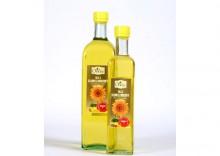 Olej słonecznikowy tłoczony na zimno 1000ml