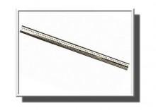 ZAA0033 | Łańcuszek ŻMIJKA 45cm BIAŁE złoto 585